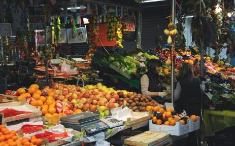 Barraca de frutas
