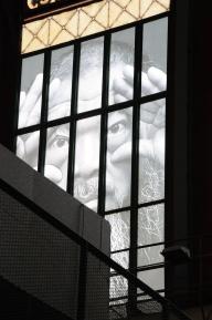 Imagem nos vitrais
