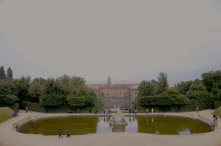 Vista do Palazzo Pitti