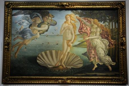 O nascimento de Venus - Sandro Boticelli