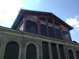 Fachada do Mercado Central Sao Lorenzo