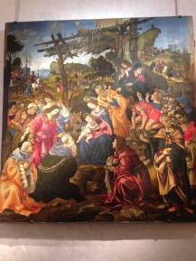 Adoração dos magos - Leonardo da Vinci