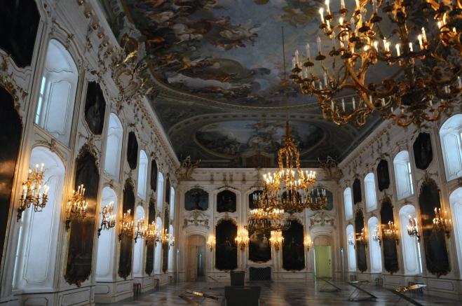 Sala dos gigantes! Conhecida como Riesensaal. Do barroco ao rococó!