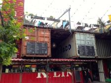 O bar - restaurante do local