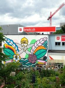 Plantas, grafite, andaime! Muita informação!